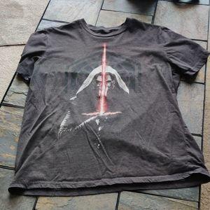 Star Wars Rise of Skywalker Kylo Ren T Shirt XL